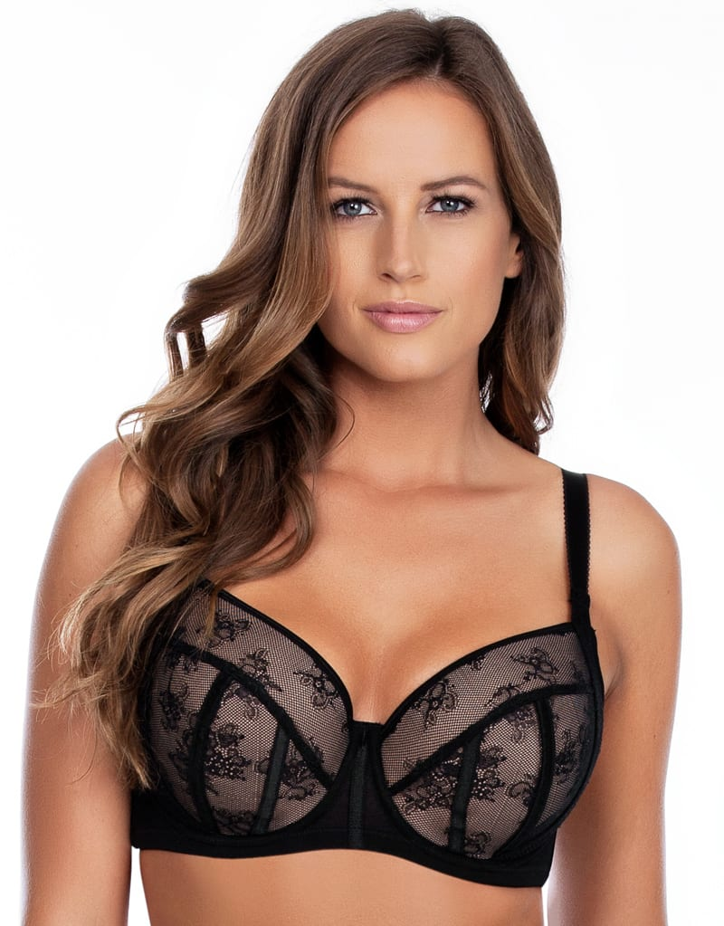 Бюстгальтеры 0029257_parfait-estelle-padded-balconette-bra-black