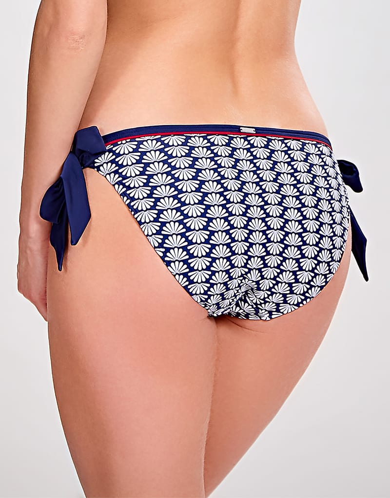 Купальники 0035509_panache-milano-tie-side-brief-navy-print