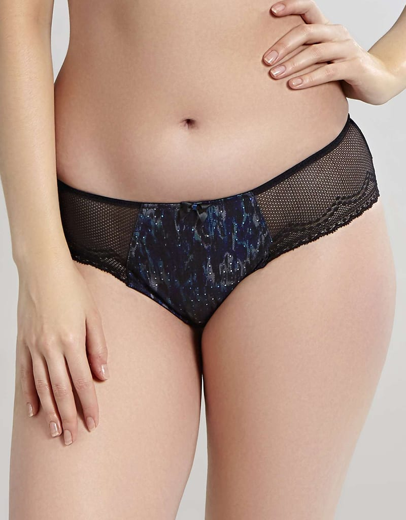 Слипы 0037880_cleo-by-panache-hettie-brief-blackblue-animal