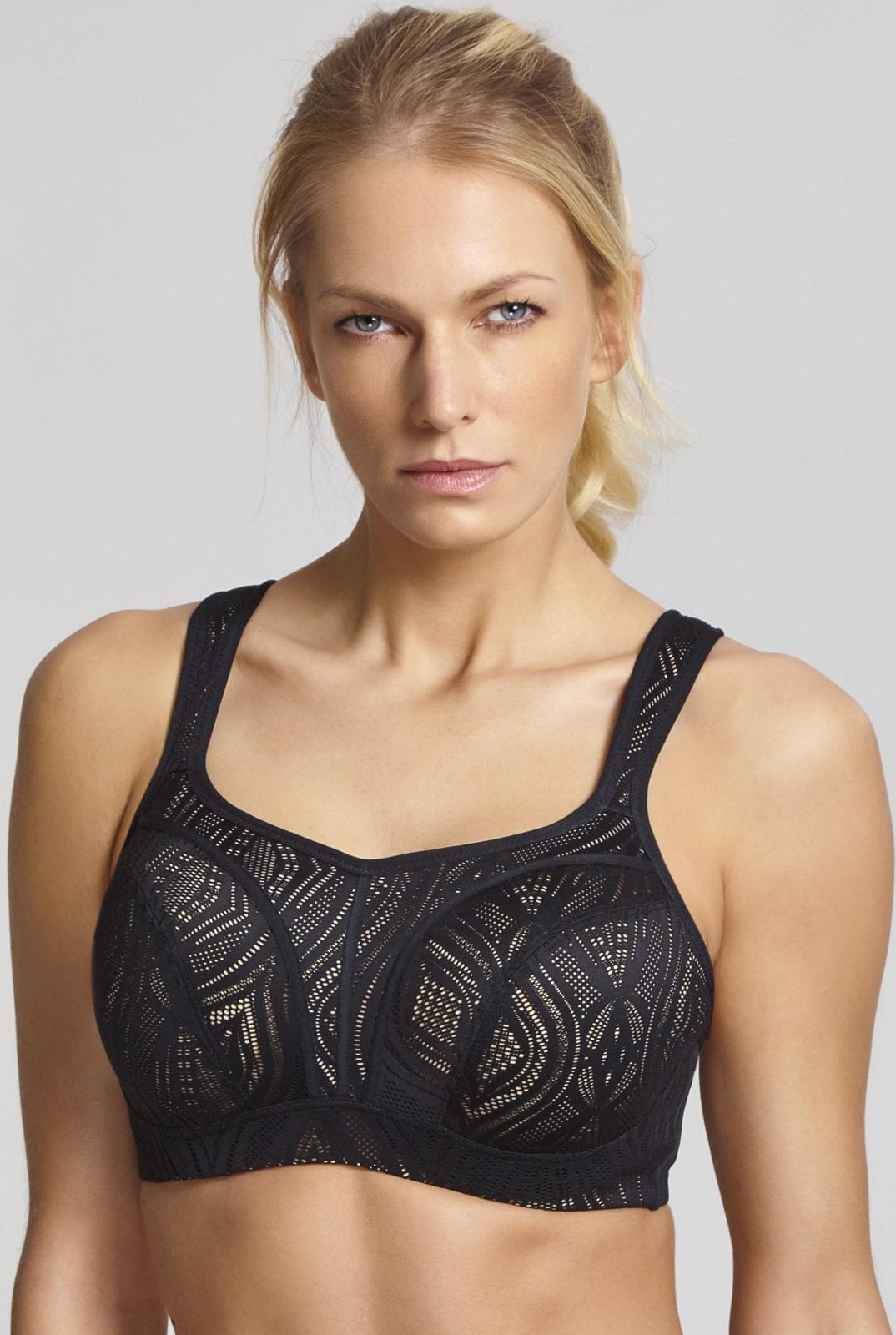 Спорт бра на косточках 5021C_471_Wired Sports Bra Black Latte Front Trade 1