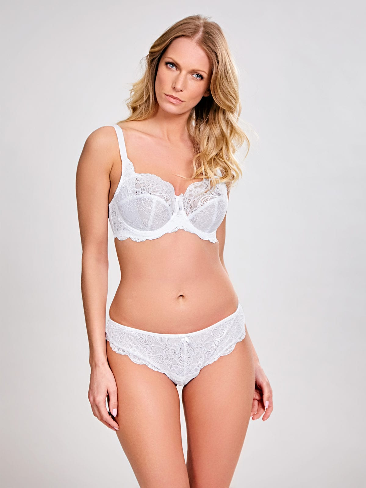Базовое белье 5675_338_Andorra Full Cup Bra White Front Trade 5