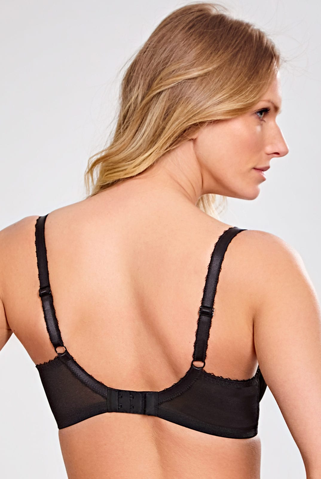 Бюстгальтеры 6951_013_Jasmine Balconnet Bra Black Back Trade 2