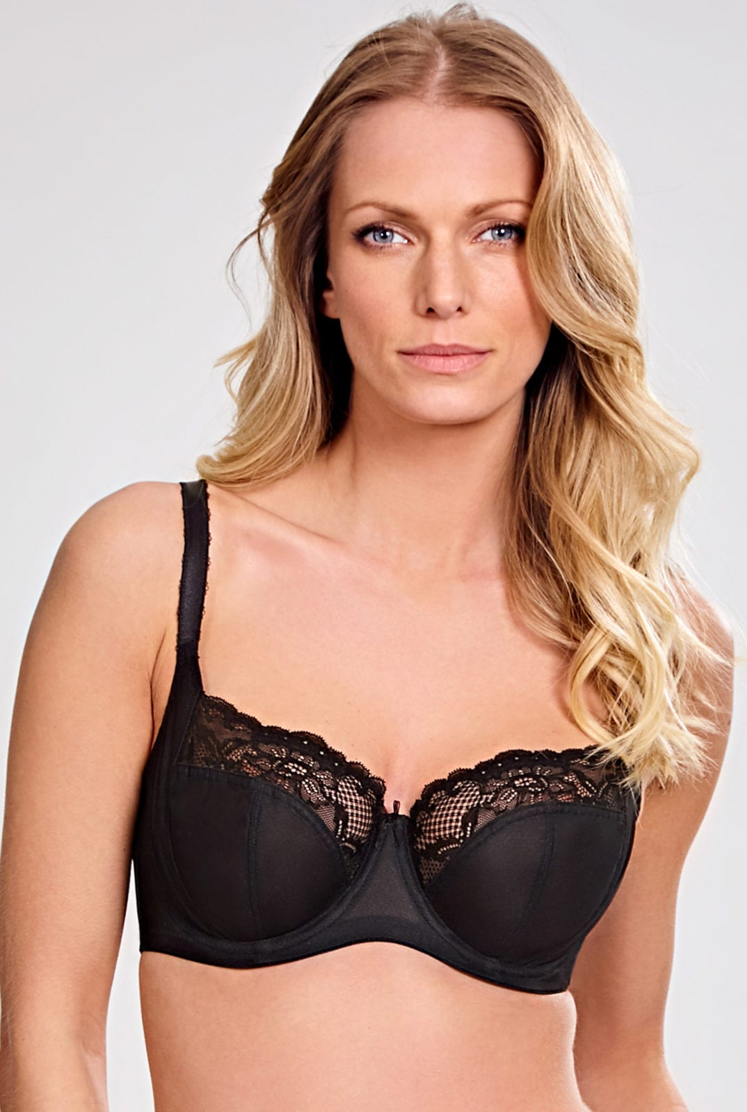 Бюстгальтеры 6951_013_Jasmine Balconnet Bra Black Front Trade 1