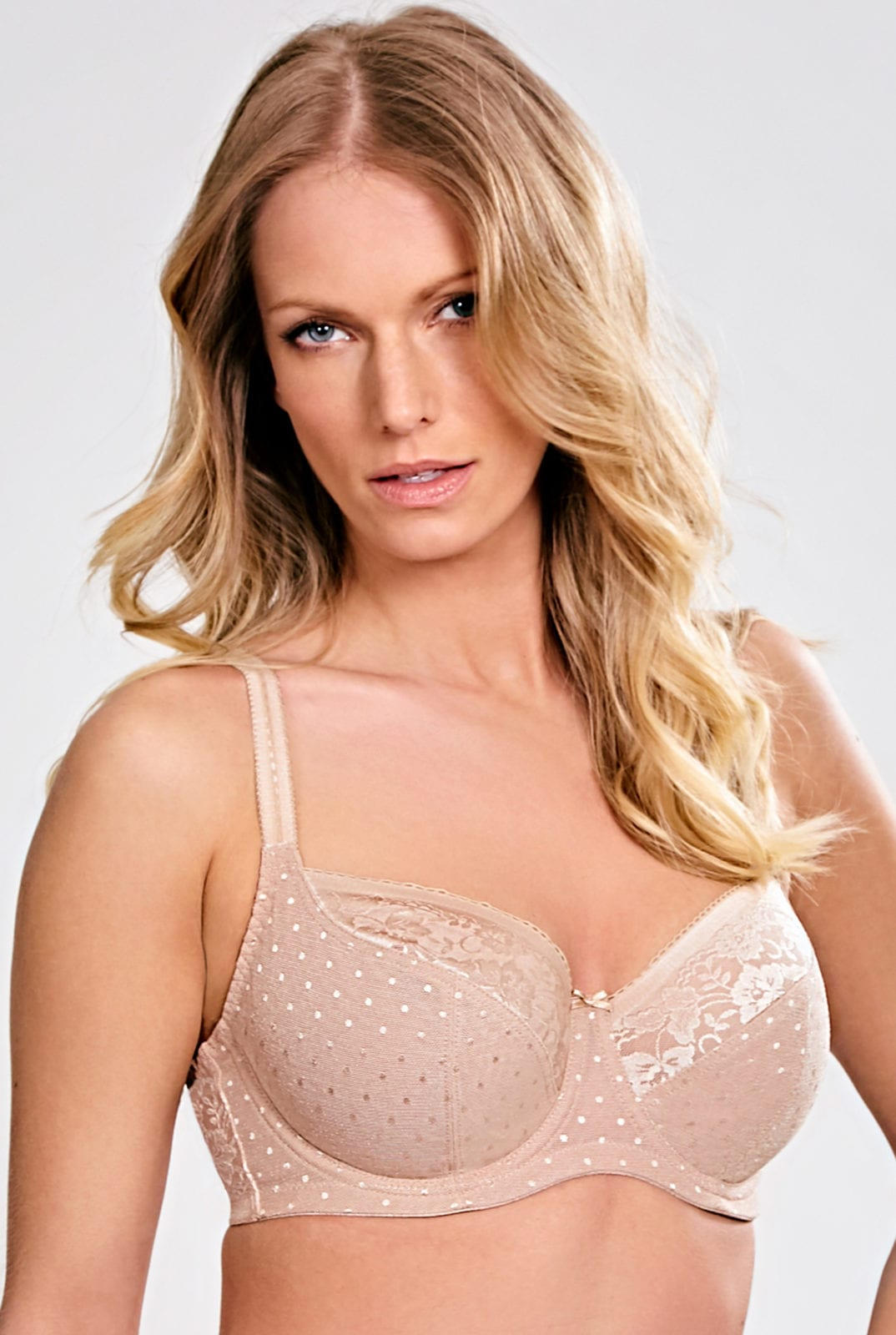 Бюстгальтеры 7751_809_Olivia Balconnet Bra Honey Front Trade 1
