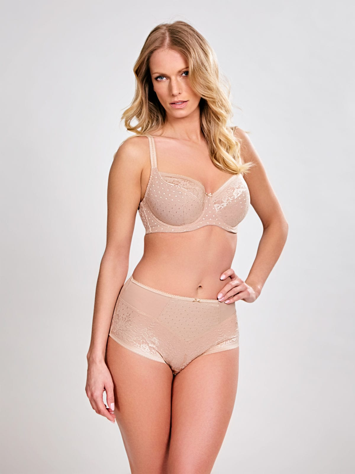 Бюстгальтеры 7751_809_Olivia Balconnet Bra Honey Front Trade 3