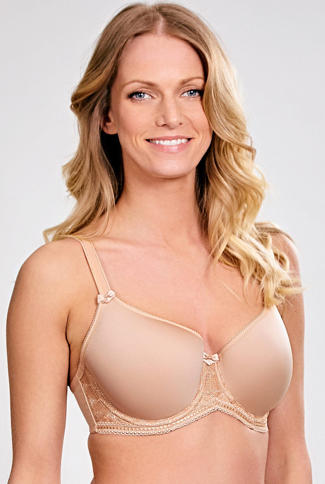 Базовое белье 7961_076_Cari Spacer Bra Champagne Front Trade 1