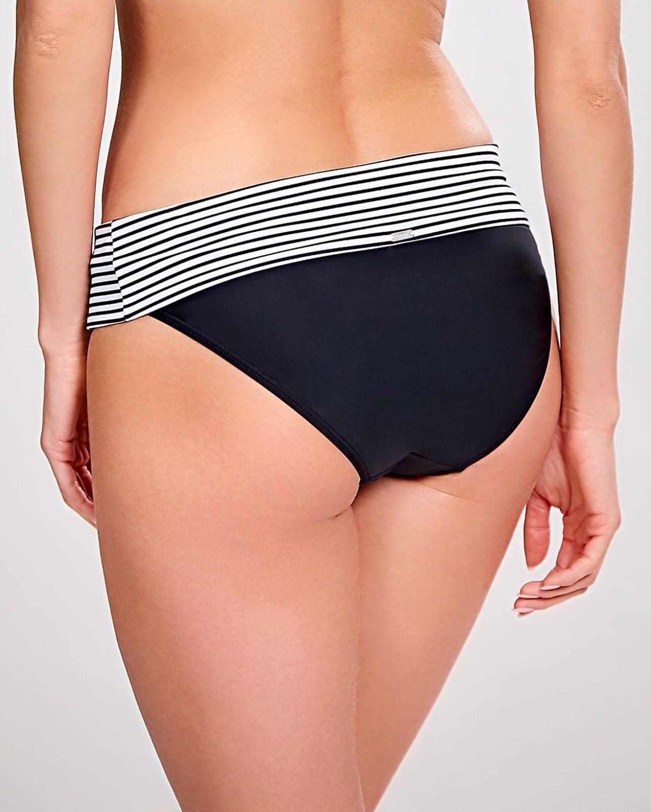 Базовые купальники Anya Stripe Fold 2