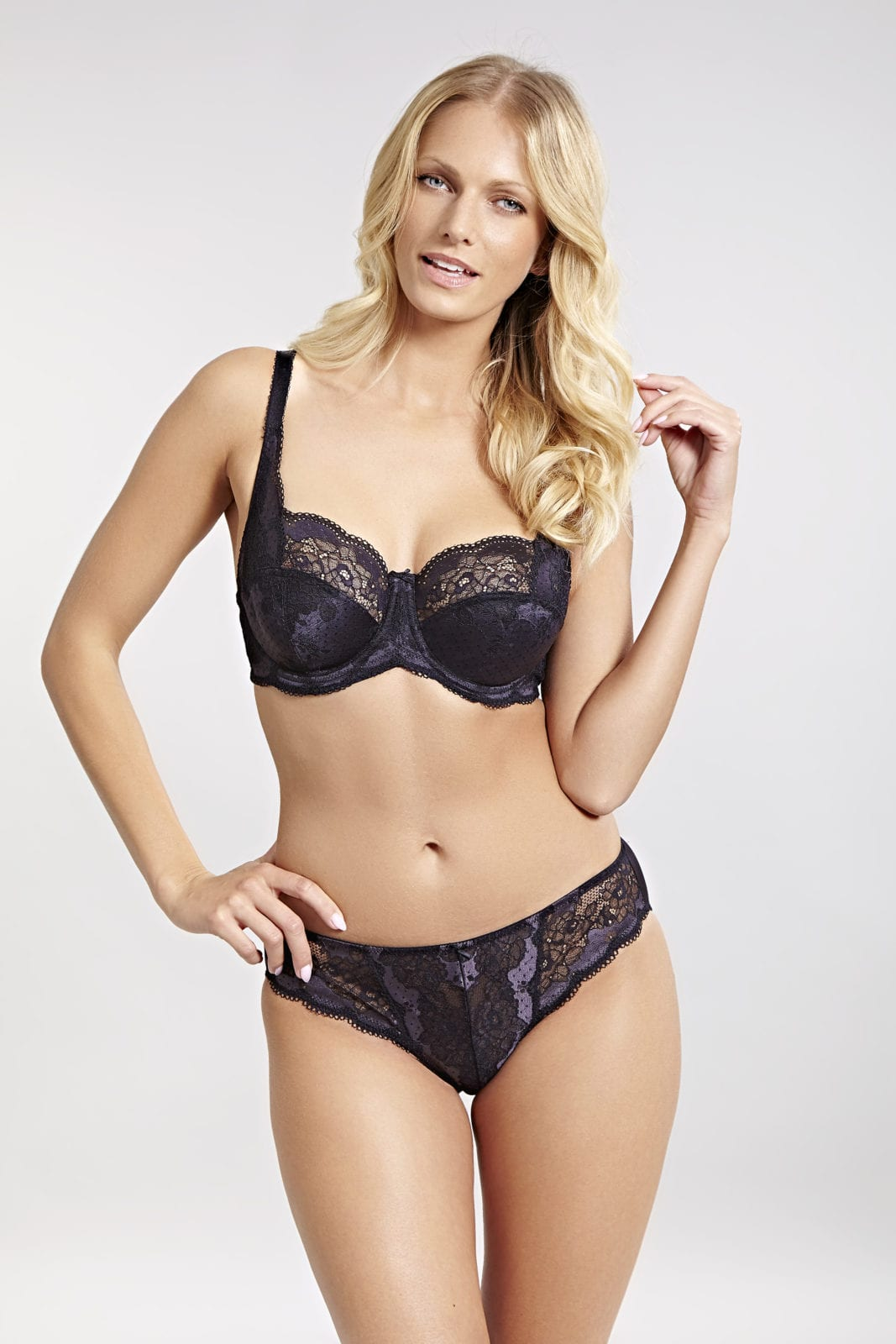 Базовое белье Clara Full Cup Charcoal Black 3