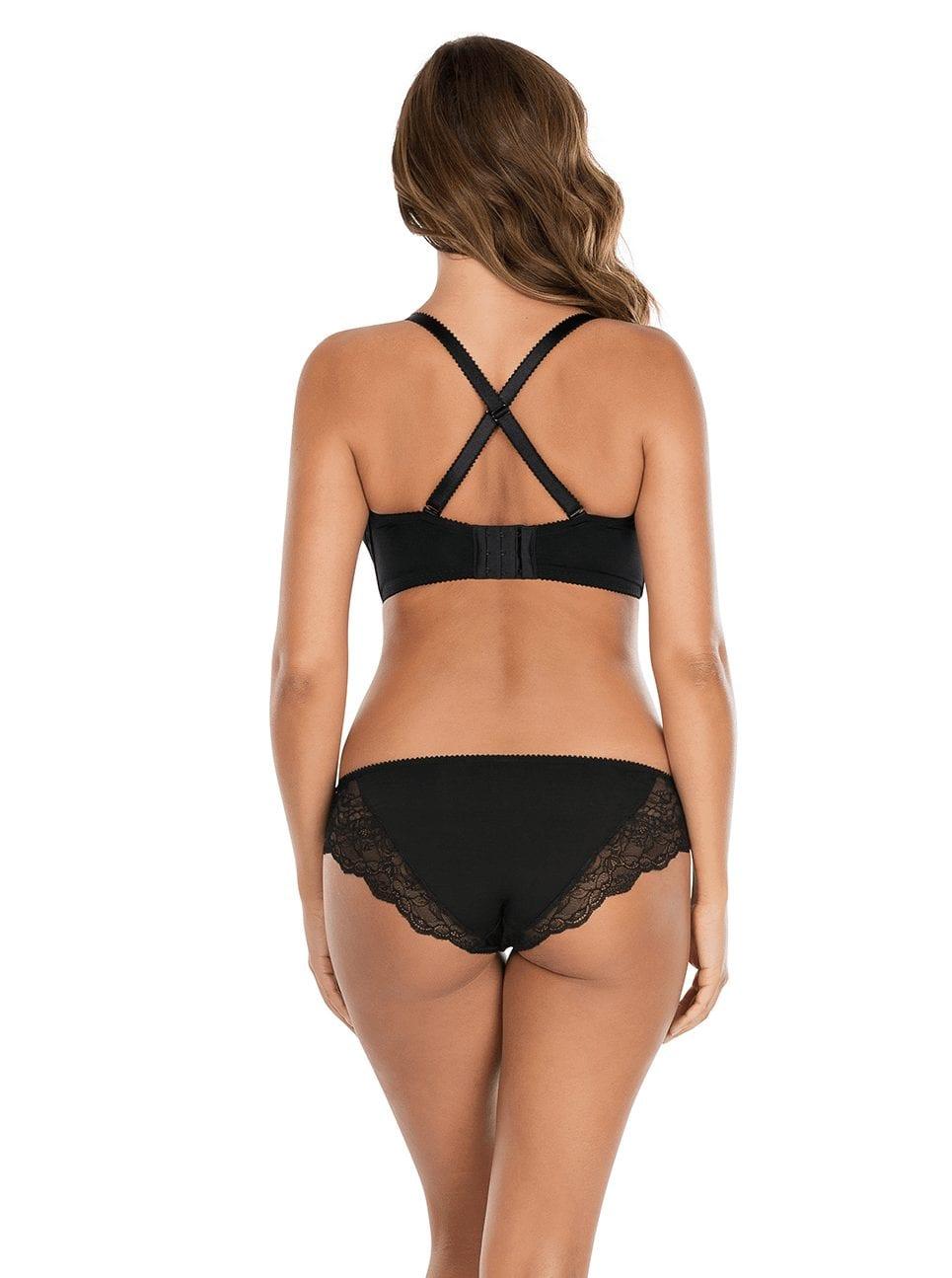Бюстгальтеры Elissa_ContourUnderwireBraP5011_BikiniP5013_Black_Cross-Back