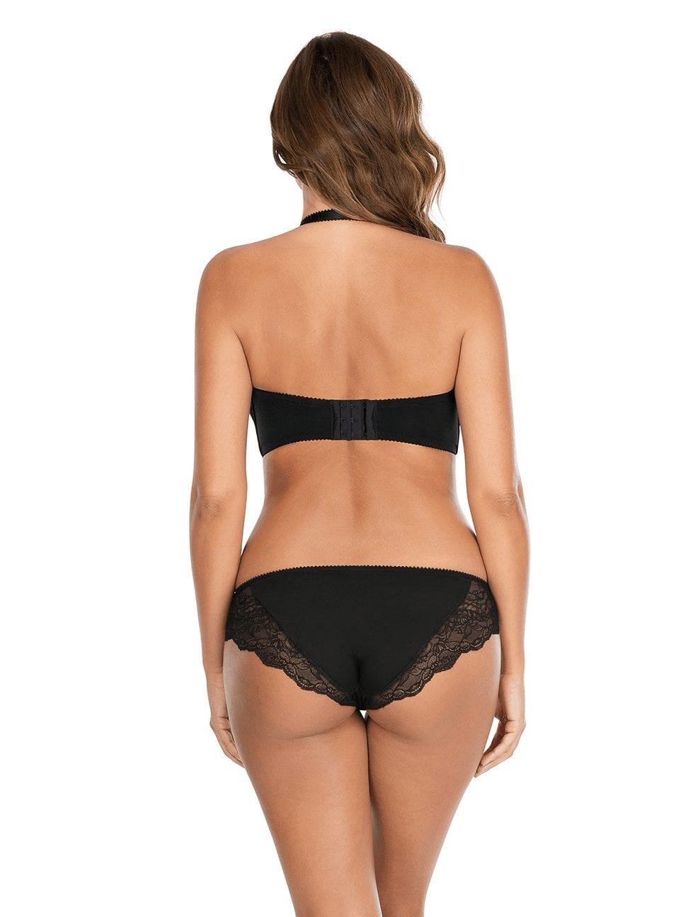 Бюстгальтеры Elissa_ContourUnderwireBraP5011_BikiniP5013_Black_Halter-Back