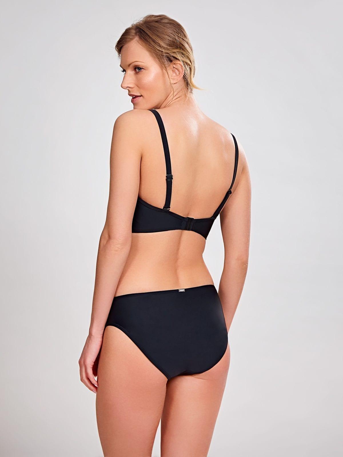 Базовые купальники SW0883_013_Anya Bandeau Bikini Top Black Back Trade 6-min