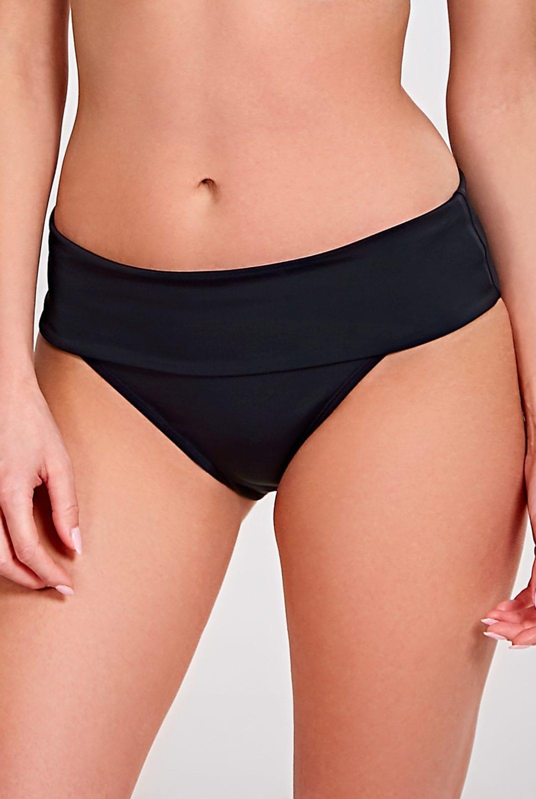 Купальники SW0887_013_Anya Fold Pant Black Front Trade 1-min