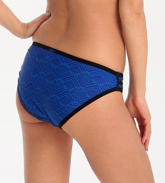 Классические плавки panache-cleo-gigi-halter-bikini-blue-black-3
