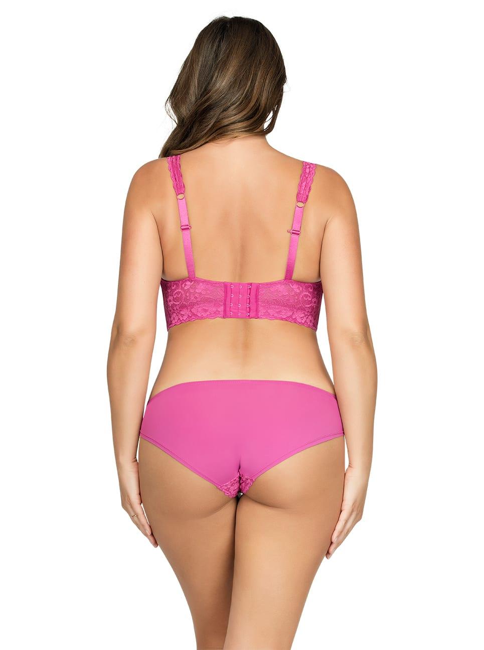 Без косточек PARFAIT_Adriana_LaceBraletteP5482_BikiniP5483_Raspberry_Back
