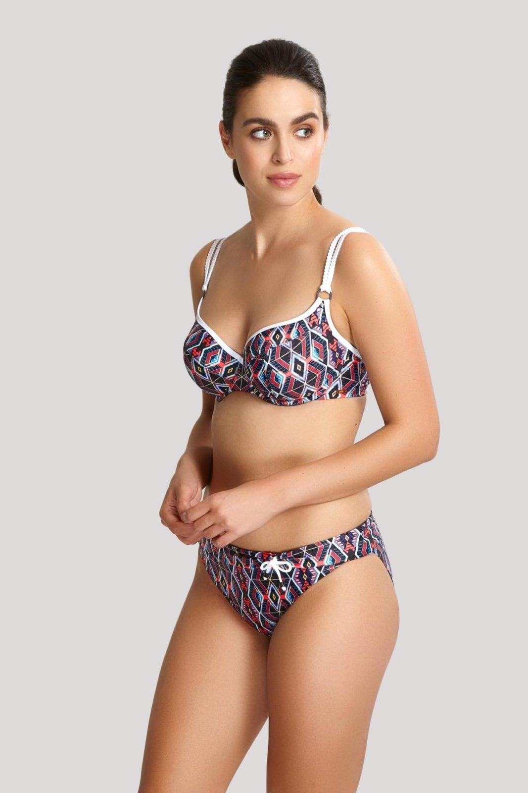 Купальники SW0870_876_1 Elle Balconnet Bikini Tribal Print T F 1-min