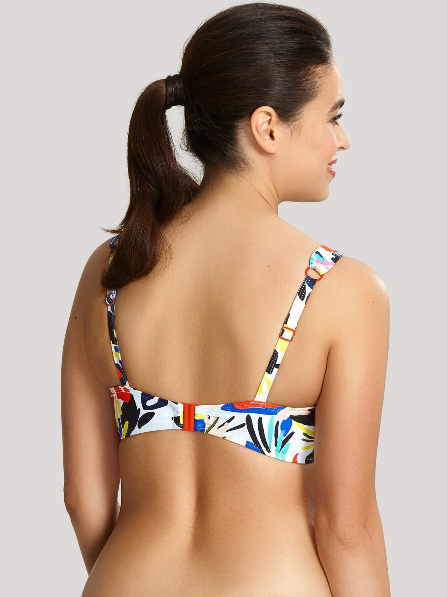 Купальники SW1405_449_4 Anya Riva Print Full Cup Balconnet Bikini Floral Print T F 4-min