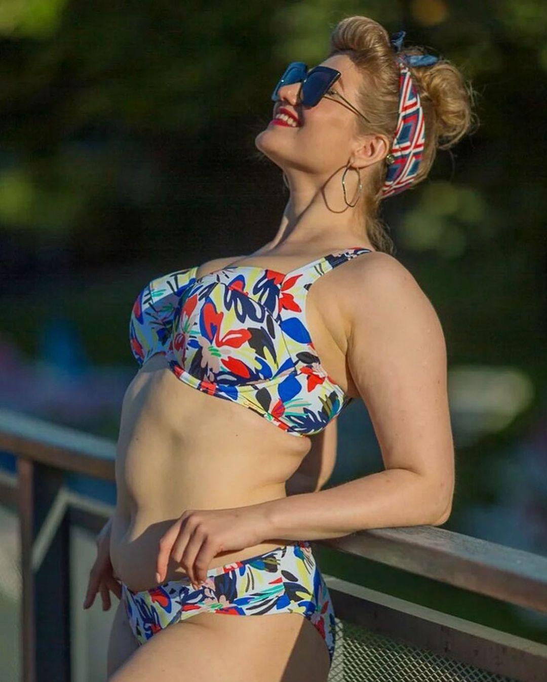 купальник раздельный Anya Riva Print Full Cup