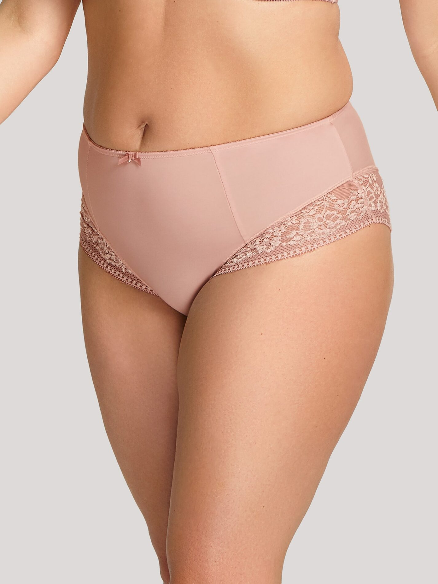 Высокие слипы 9582_882_1 Roxie High Waist Brief Misty Rose TF 1-min