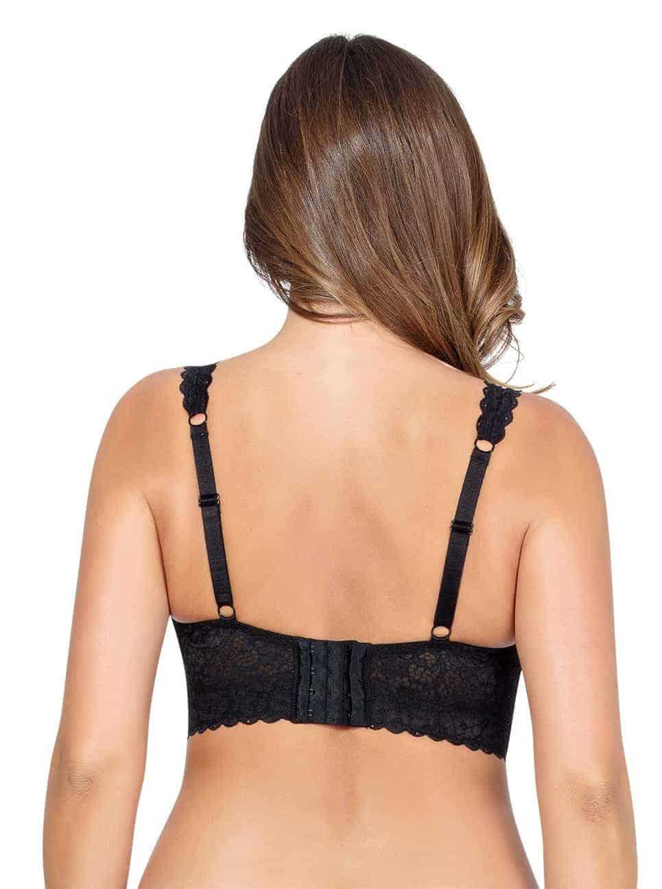 Базовое белье PARFAIT_Adriana_LaceBraletteP5482_Black_Back