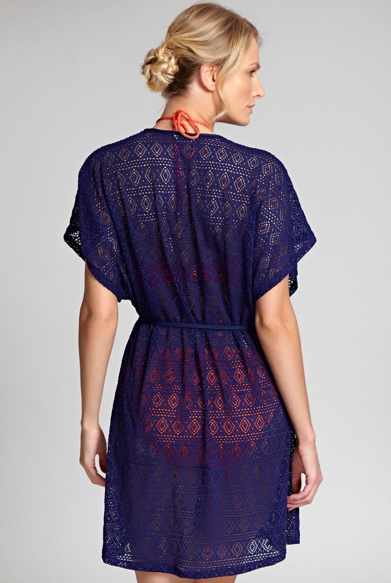 Купальники Panache-Swim-Crochet-Wrap-Sun-Dress-in-Navy-2