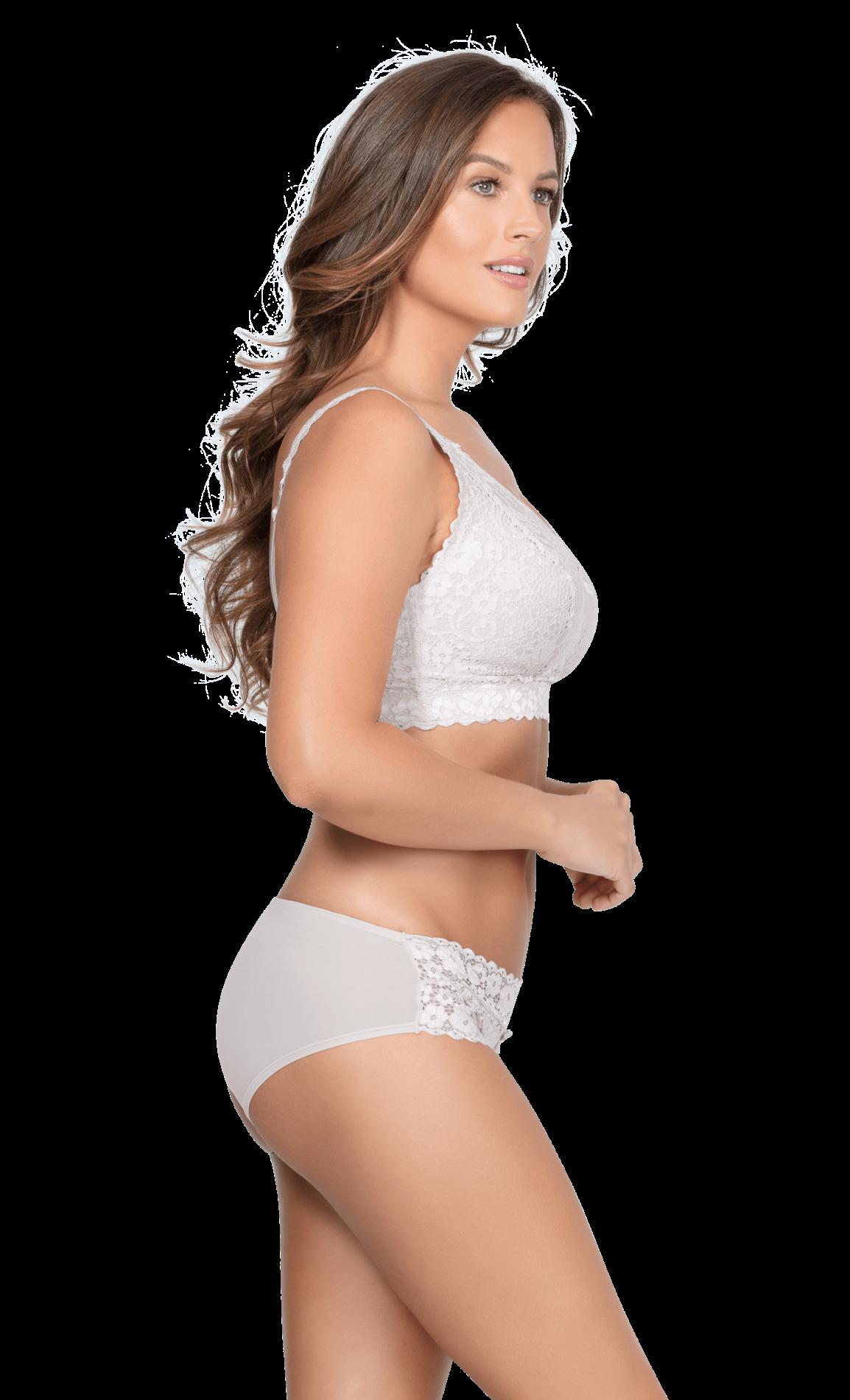 Без косточек Adriana Pearl White 3